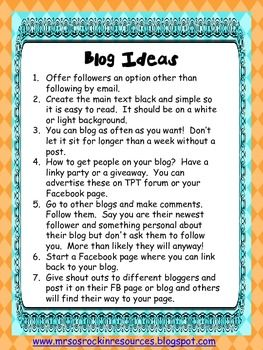 Great Blog Ideas! Need One?